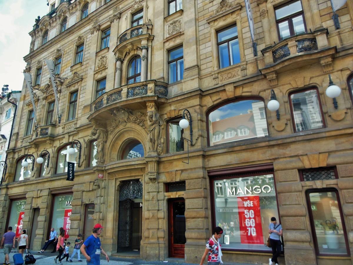 Compras em Praga